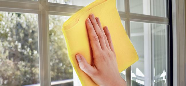 窓ガラスの拭き掃除でムラを残さない方法とは?