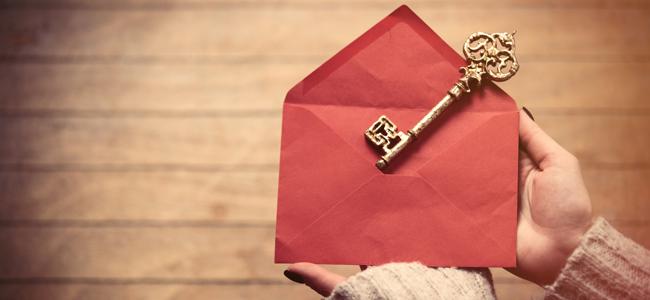 大事な鍵を郵送するときは、細心の注意を払って送ろう!