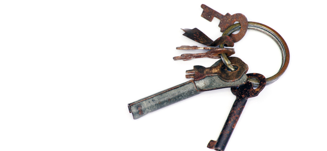 錆びが故障の原因になるって本当? 知っておきたい鍵のお手入れ方法