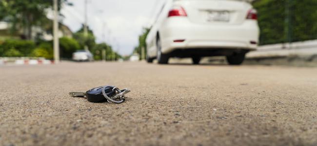 車の鍵をなくしたときの正しい対処法とは?