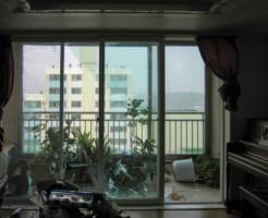台風による被害を防ごう! 二階の窓の割れ対策